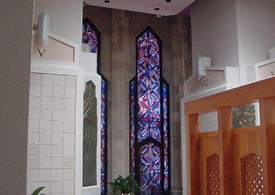 Windows built for the Columbarium at Tulsa's Boston Avenue Methodist Church.