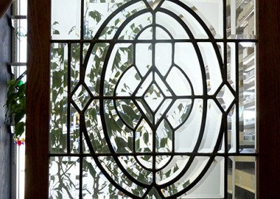 Diamond Curve Symmetry stained glass projects