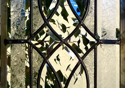 Ornate Door stained glass