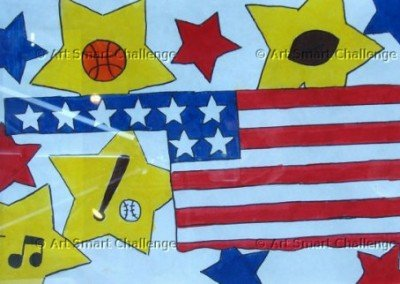 united states memorabelia - art smart challenge 2015