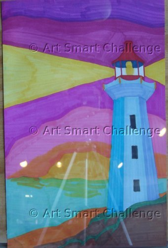A Light House - Art Smart Challenge