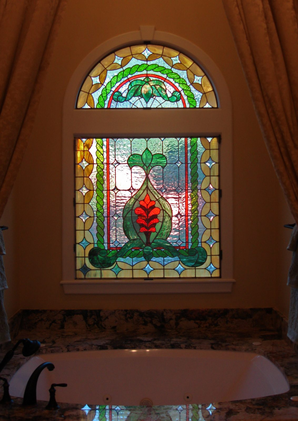 Kaplan Window Stained Glass
