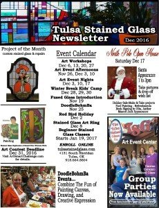 Dec 2016 Newsletter - Tulsa Stained Glass