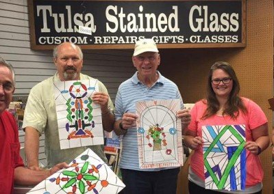 beginner class tulsa stained glass