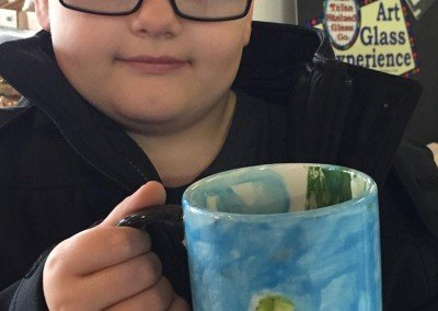 Glaze It zombie mug