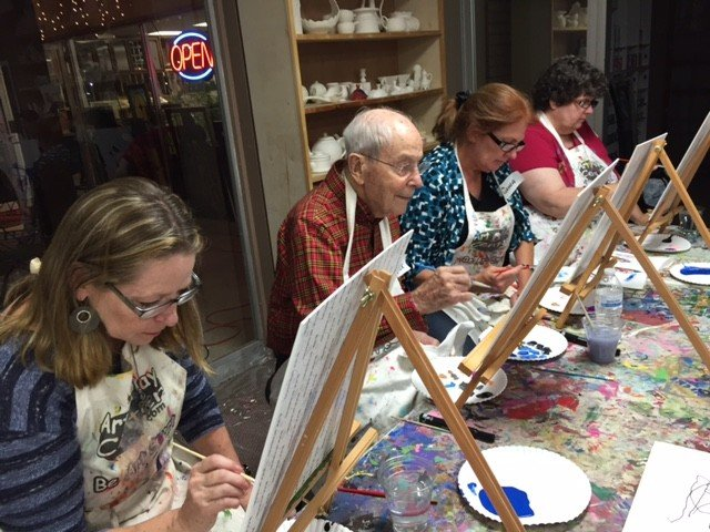 Painting is for everyone at Tulsa Paint Palette