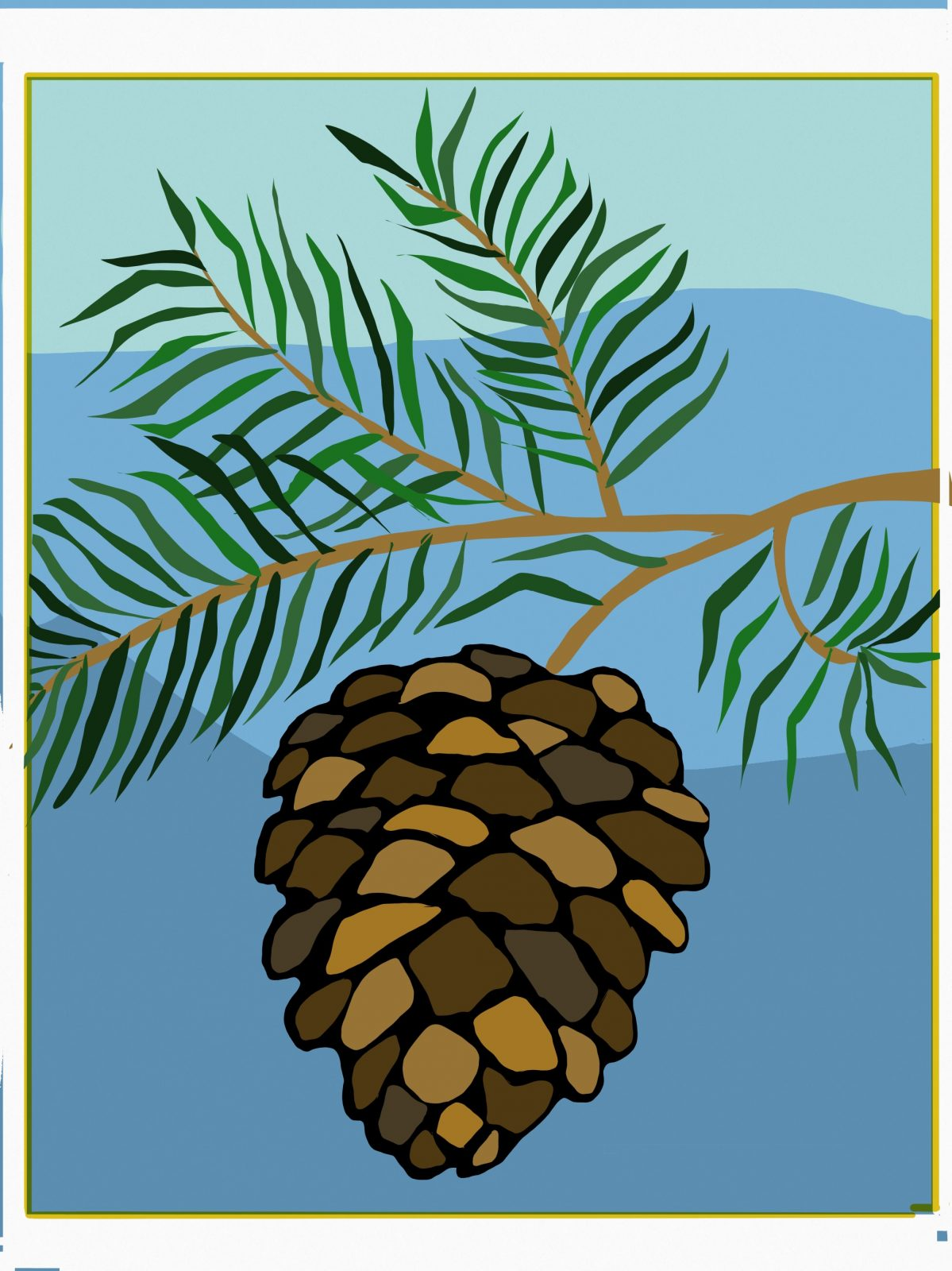 Pine Cone by Tulsa Paint Palette