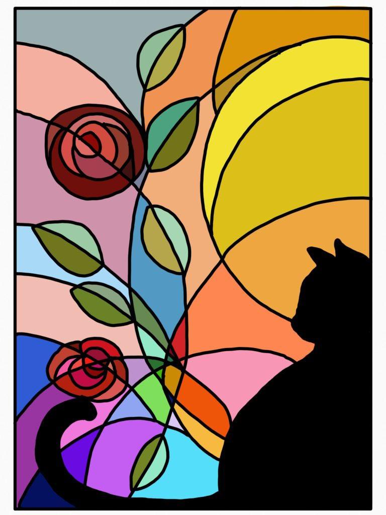Cat by Tulsa Paint Palette