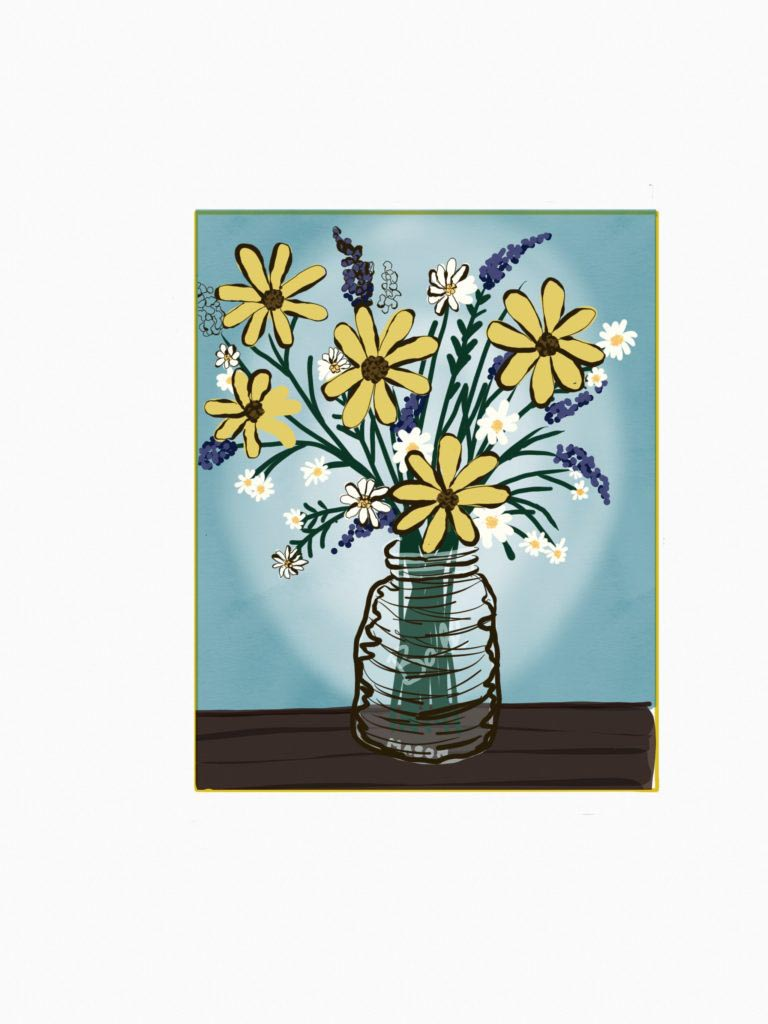 Wildflowers by Tulsa Paint Palette