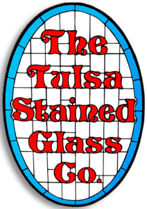 Tulsa Stained Glass Logo