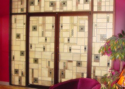 Stained Glass Door Project - Tulsa Stained Glass