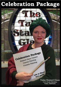 Celebration Package Poster Tulsa Stained Glass