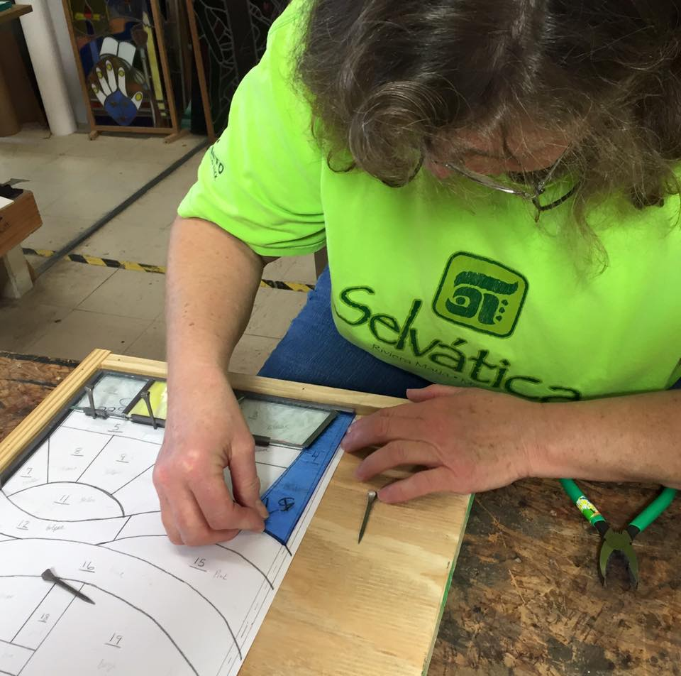 Beginner Stained Glass Class - Assembly