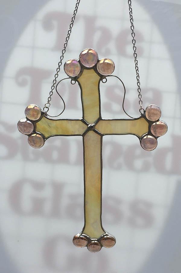 Garden Spirit Hanging Cross