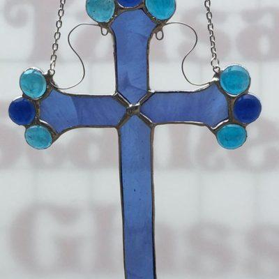 Hanging Blue Cross garden Spirit