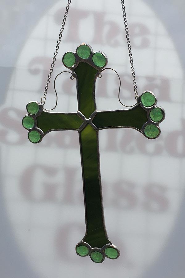 Hanging Green Cross Garden Spirit