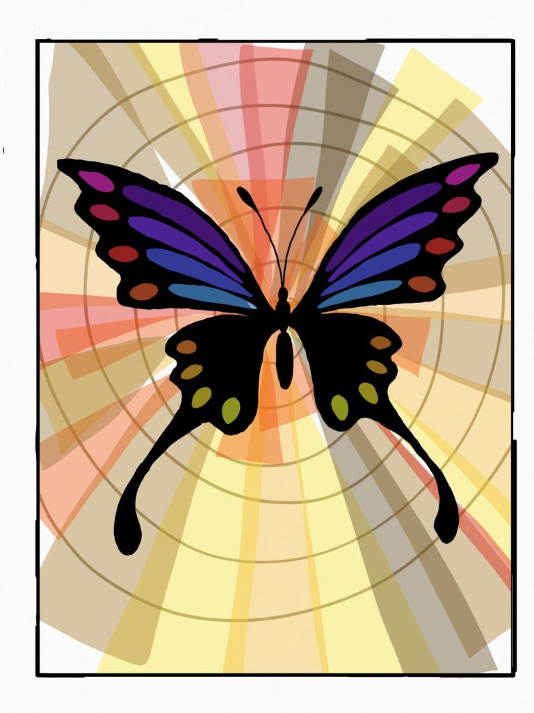 Butterfly by Tulsa Paint Palette