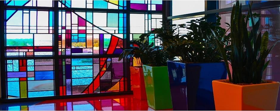Saint Francis Children's Hospital, Tulsa, OK window by Tulsa Stained Glass