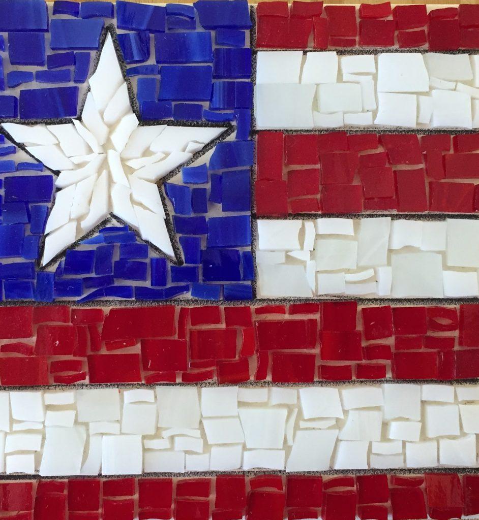 Flag 2 Mosaic