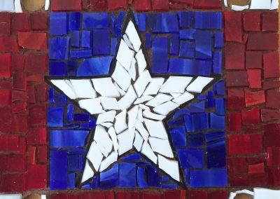 Flag 3 Mosaic