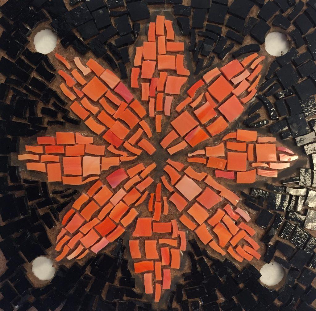 Lotus Blossom Mosaic