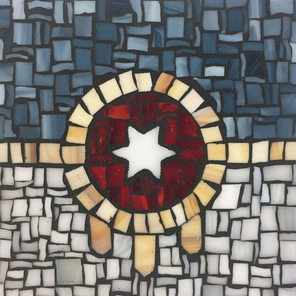 Tulsa Flag Mosaic